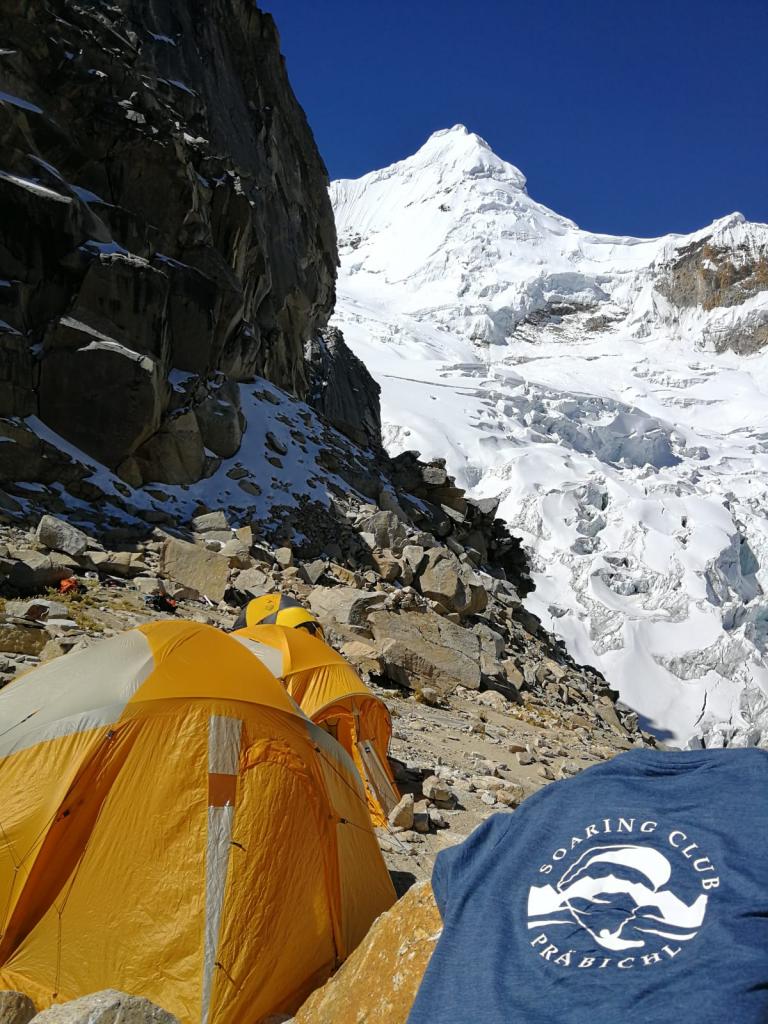Mühli - Peru vom Tocllaraju Highcamp 5000m